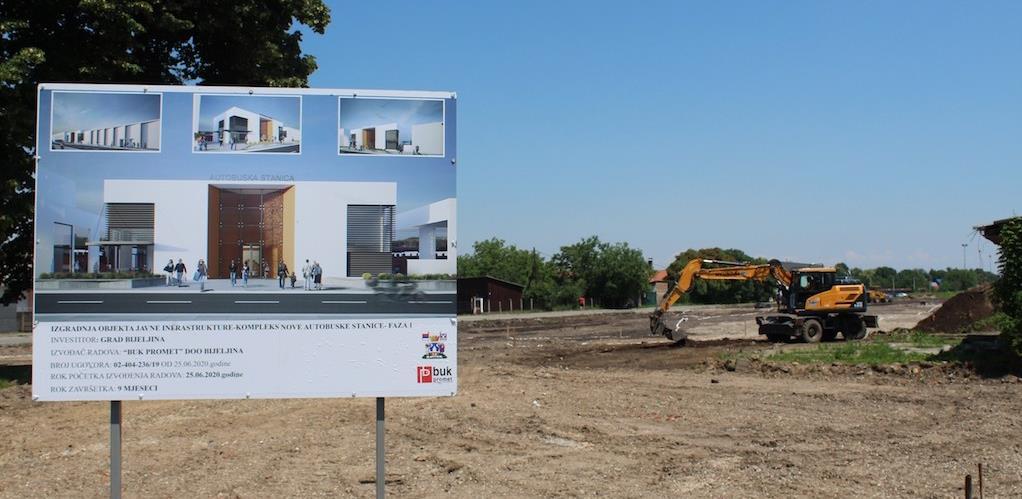 Počeli radovi na izgradnji nove Autobuske stanice u Bijeljini
