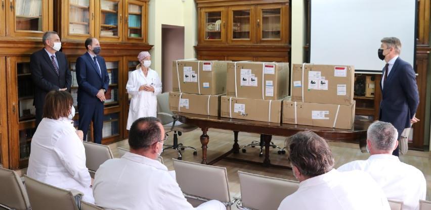 KCUS-u i Općoj bolnici uručeno sedam respiratora