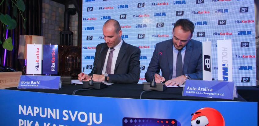 INA i Energopetrol novi partneri Pika Kartica programa lojalnosti