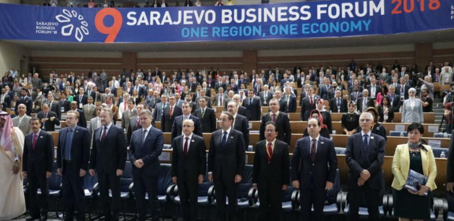 Svečano otvoren deveti Sarajevo Business Forum