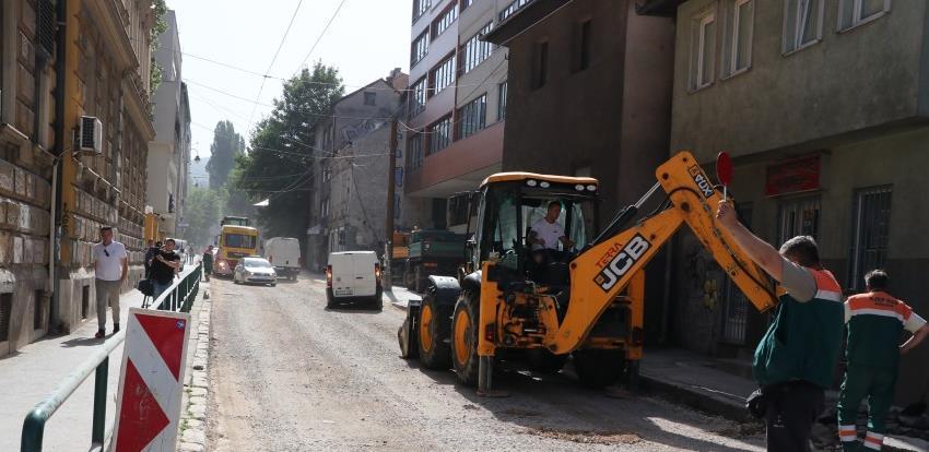 Sarajevo: Počela rekonstrukcija jedne od najvažnjih saobraćajnica u centru grada