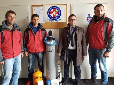Značajna donacija kompanije Linde gas BH Gorskoj službi spašavanja Zenica