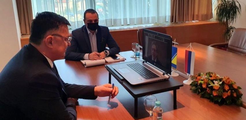 Tegeltija s predstavnicima MMF-a razgovarao o nastavku saradnje