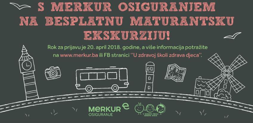 S Merkur osiguranjem na besplatnu maturantsku ekskurziju!