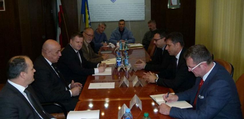 Novalić i Džindić u ZDK - Rješavanje problema radnika Željezare i rudnika