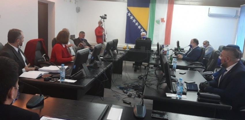 Vlada SBK-a nije podržala prijedlog 'korona zakona'