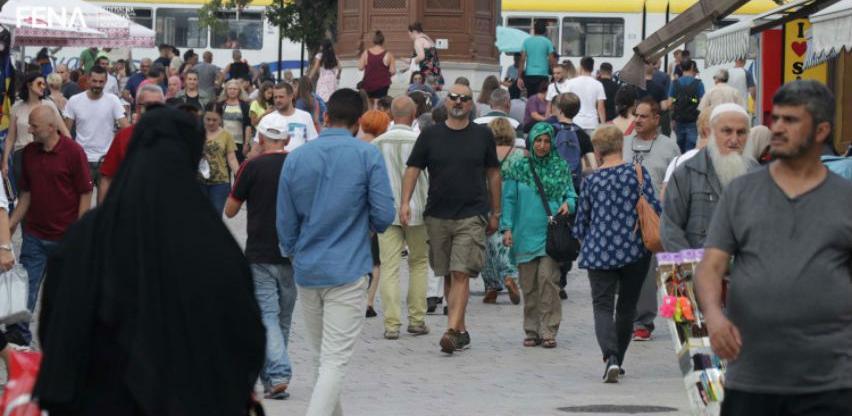Sve veći broj turista, trgovci na Baščaršiji nezadovoljni prodajom