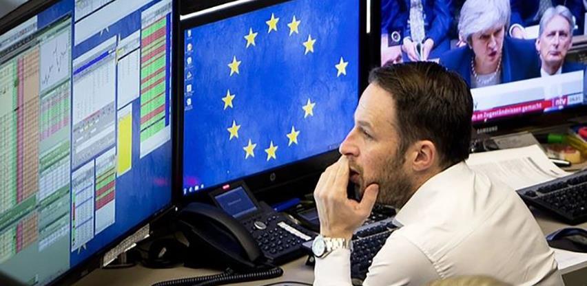 Na početku tromjesečja europske burze zaronile u minus