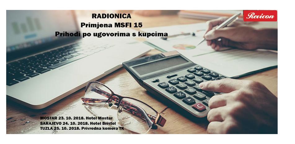 Revicon radionica: Primjena MSFI 15