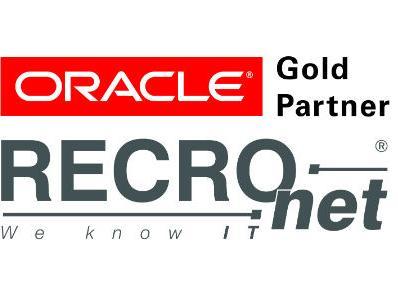 Kompaniji RECRO-NET Oracle dodijelio status Gold Partner