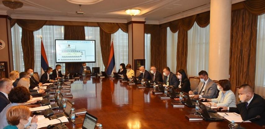 Vlada RS utvrdila konsolidovani izvještaj o izvršenju budžeta od 1,953 milijardi