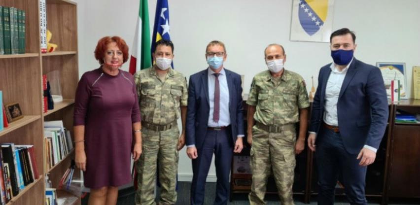 Turska vojna misija u BiH ulaže 450.000 KM u školsku infrastrukturu