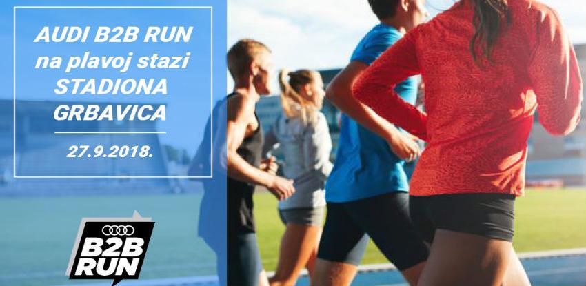 AUDI B2B RUN ove godine trkače vodi na plavu stazu stadiona Grbavica