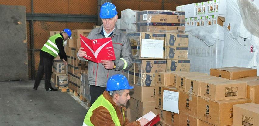Inspekcijski nadzor robe koja se uvozi u FBiH 198, a u RS-u 66 KM