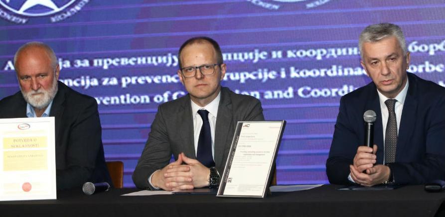 Memorandum o uspostavi antikorupcijskog partnerstva APIK-a i Sevoi grupe BH