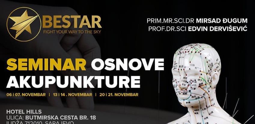 U Sarajevu naučite osnove akupunkture uz istaknute stručnjake Mirsada Đuguma i Edvina Derviševića
