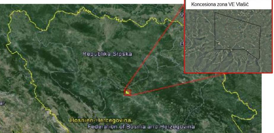 EPBiH predala zahtjev za okolinsku dozvolu za projekt vjetropark Vlašić