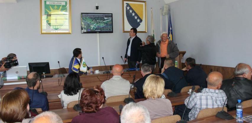 Napravljene projektne izmjene rute brze ceste Goražde - Sarajevo
