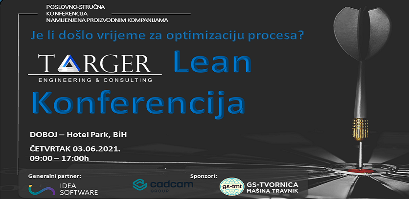 Targer Lean konferencija 2021 u Doboju