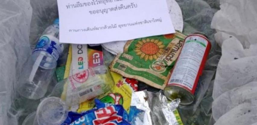 Tajlandski nacionalni park poštom vraća turistima smeće koje su ostavili