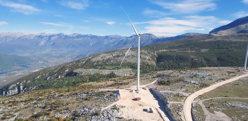 Vjetroelektrana Podveležje proizvela prve kilovatsate električne energije