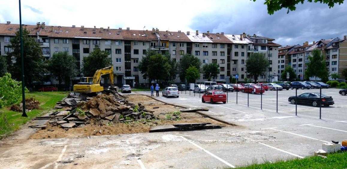 Zavod za izgradnju KS o spornoj lokaciji na Dobrinji: Zemljište nije naše