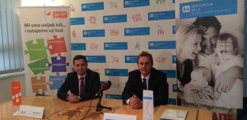SOS Dječija sela obilježila 14 godina partnerstva sa BH Telecomom