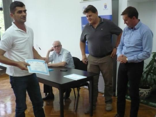 Certifikati o obuci i zapošljavanje u preduzeću SurTec - Eurosjaj
