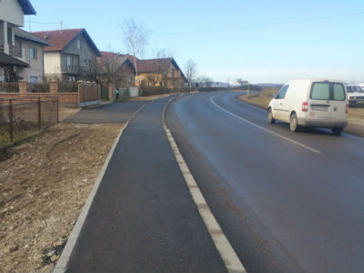 Završena pješačka staza u MZ Vida II