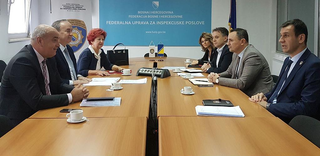 Sastanak direktora FUZIP-a i  Elektroprivrede BiH