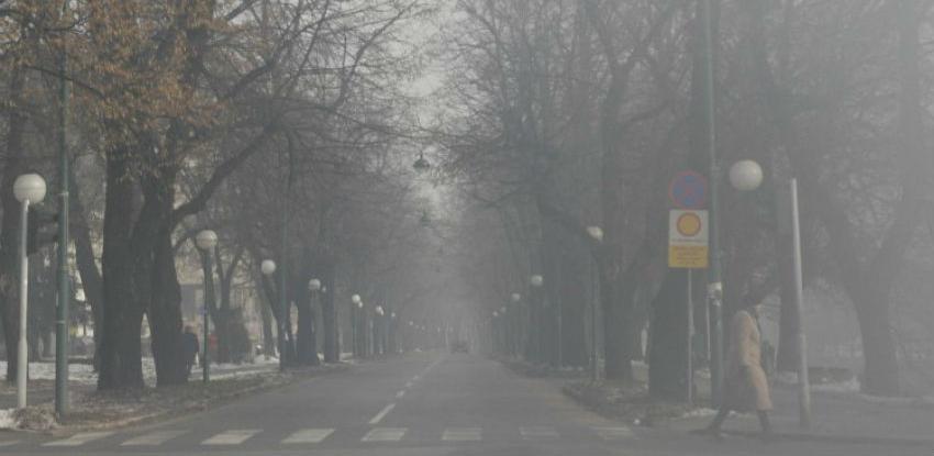 U naredna dva dana visoke i po zdravlje opasne zagađujuće materije u FBiH