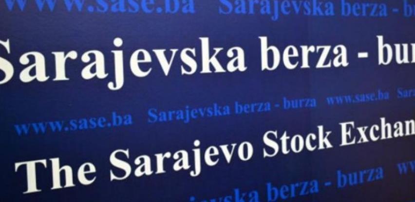 Na Sarajevskoj berzi promet 627.218 KM