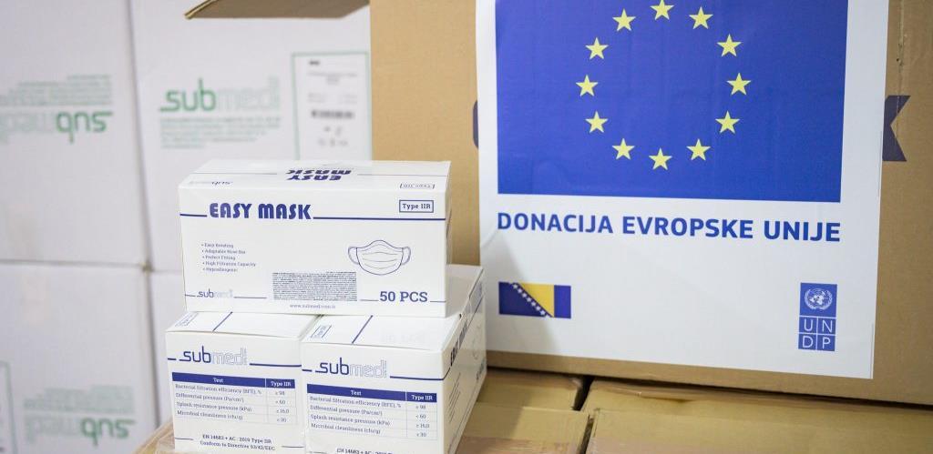 EU isporučila 30 tona medicinske opreme u BiH vrijedne 900.000 eura