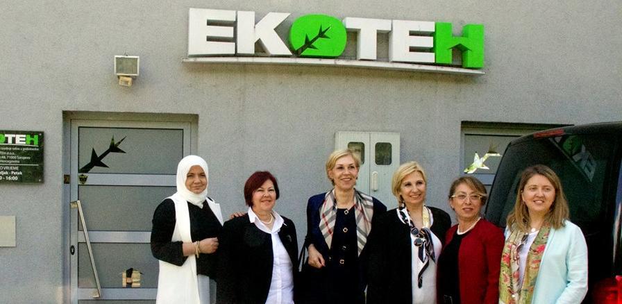 Poslovne žene iz Turske posjetile bh. kompanije