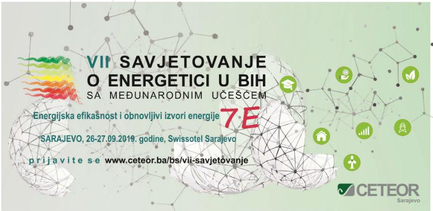 VII Savjetovanje o energetici u BiH sa sloganom 7E biće održano u Sarajevu