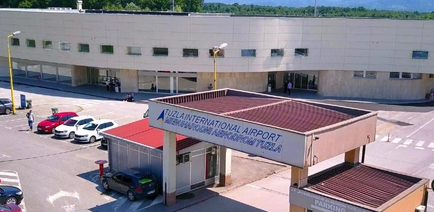 Aerodrom Tuzla uvodi nove linije, ciljaju milion putnika