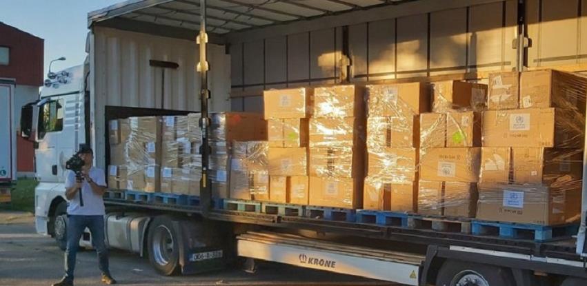 SZO donirala 11 tona opreme zdravstvenim ustanovama u RS-u