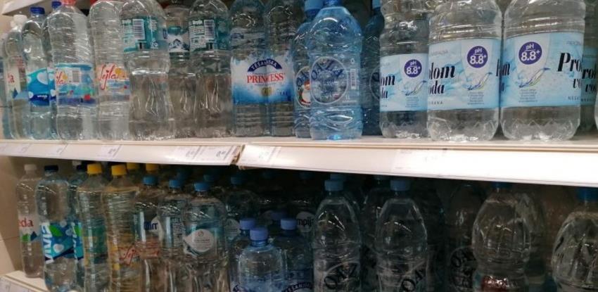 Uvoz vode i sokova smanjen za 15 posto, trgovinska razmjena nepovoljna