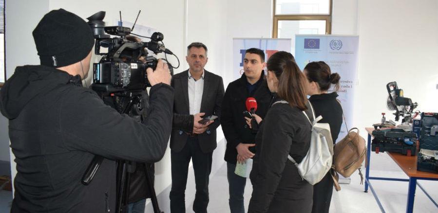 U Poslovnoj zoni Ramići otvorena radionica za tehničku obradu drveta