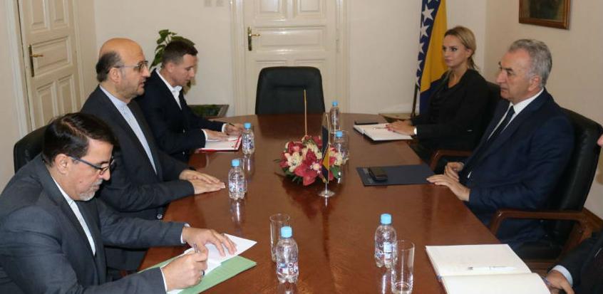 BiH uklanjanja sve barijere u privrednoj saradnji sa Iranom