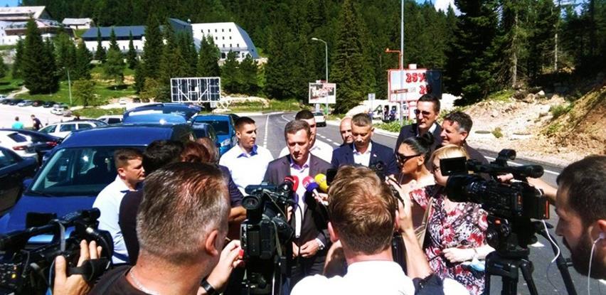 Puštena u saobraćaj dionica Bistrica - Podgrab, vrijednosti više od milion KM