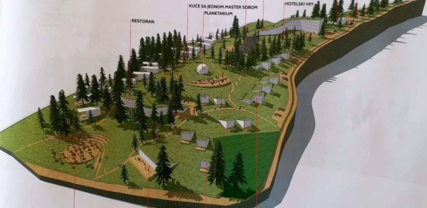 Na Bijambarama planirana izgradnja turističko-rekreativnog centra