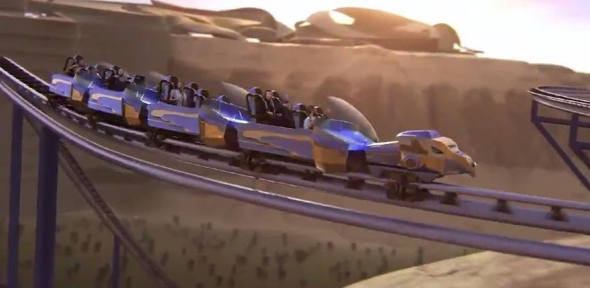 (VIDEO) Saudijska Arabija gradi najbrži roller-coaster na svijetu, dostizat će više od 250 km/h