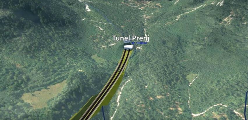 Objavom tendera započeo izbor izvođača radova za tunel Prenj