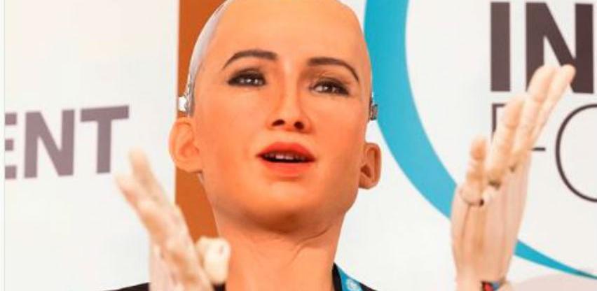 Sofija, prvi robot građanin na svijetu na Digitalnom samitu u Beogradu