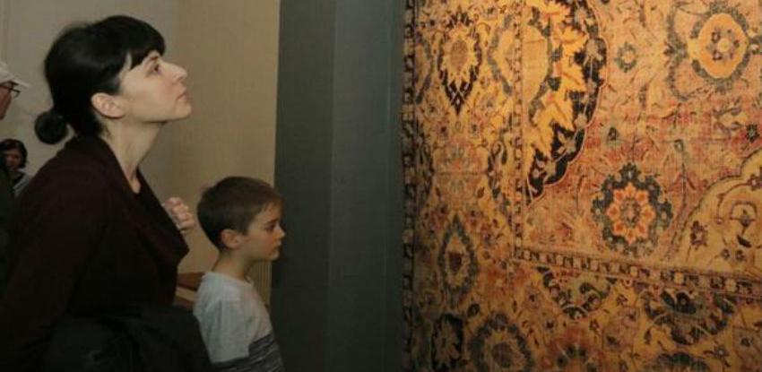 Predstavljeni fragmenti safavidskih tepiha iz 17. stoljeća