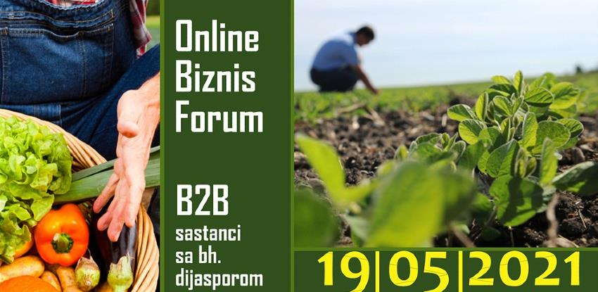 Online Biznis Forum: Ulaganje u poljoprivredu i proizvodnju hrane