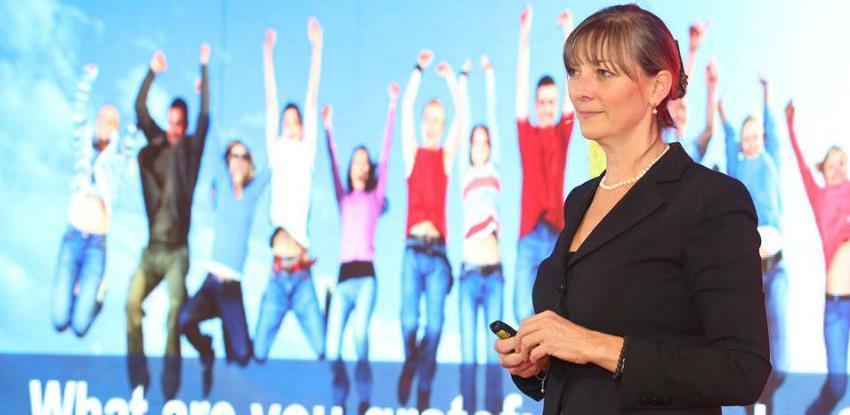 Zatvorenica i biznis liderica Karin Volo osvojila publiku konferencije DRIVE2018