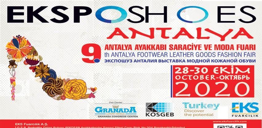 9. Internacionalni sajam EXPOSHOES Antalya 2020.