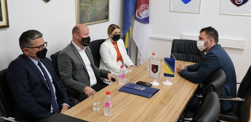Delić s ministricom Mehić razgovarao o privrednoj saradnji KS i USK-a